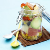 Mixed Salad in Preserving Jar Photographic Print by Bernard Radvaner
