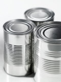 Three Food Tins Without Labels Photographic Print by Colin Erricson