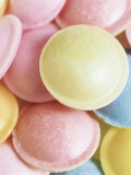 Pastel-Coloured Flying Saucers Photographic Print by Sam Stowell