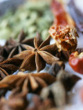 Star Anise and Dried Chili Peppers Photographic Print by Jürg Waldmeier