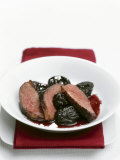 Duck Breast with Prunes Photographic Print by Nicolas Coipeau