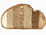 Slice of Bread Comprising Different Types of Bread Photographic Print