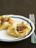 Goat&#39;s Cheese Tarts with Puff Pastry Photographic Print by Nicolas Coipeau
