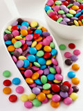 Smarties in Scoop and Small Bowl Photographic Print
