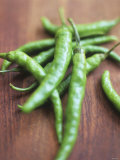 Green Chillies Photographic Print by Tara Fisher
