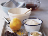 Still Life with Ingredients for Sweet Pudding Photographic Print by Michael Paul