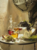 Dessert Wines for a Selection of Cheeses Photographic Print