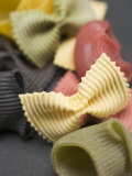 Various Types of Coloured Pasta Photographic Print