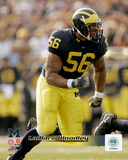 LaMarr Woodley University of Michican Wolverines 2006 Action Photo