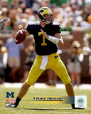 Chad Henne University of Michican Wolverines 2005 Action Photo