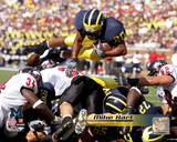 Mike Hart University of Michican Wolverines 2005 Action Photo