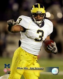 Marlin Jackson University of Michican Wolverines 2005 Action Photo