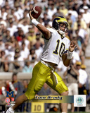 Tom Brady University of Michican Wolverines 1998 Action Photo
