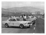1966 Riverside SCCA Trans-Am Race Lámina giclée