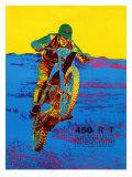 Ducati 450 R/T Desmo Motocross Giclee Print
