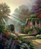Garden of Grace Collectable Print by Thomas Kinkade
