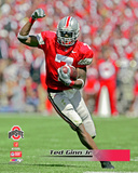 Ted Ginn Jr. The Ohio State University Buckeyes 2005 Action Photo