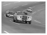 1966 Daytona 24 Hour Race Giclee Print