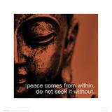 Buddha - Peace Affiches