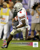 Santonio Holmes Ohio State University 2006 Action Photo