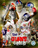 Eli Manning & David Tyree Photo