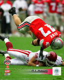 A.J. Hawk Ohio State University 2004 Action Photo