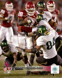 NCAA: Adrian Peterson University of Oklahoma Action Photo