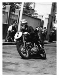 Ducati 125 Farne 1957 Giclee Print