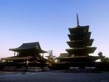Horyuji Temple Complex Photographic Print