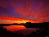 Lake Mashu in Dawn Photographic Print
