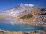 Mt. Asahidake and Sugatami Pond Photographic Print