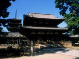Horyuji Temple Complex Photographic Print