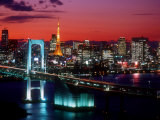 Evening View of Rainbow Bridge Photographie