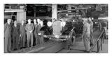 1932 Ford V8 Assembly Line Giclee Print