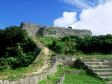 Katsuren Fort Photographic Print