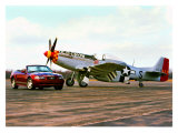 Ford's 40th Anniversary Mustang Giclee Print