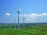 Wind Turbines Photographic Print