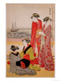 Beauties Giclee Print by Kiyonaga Tori