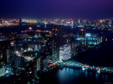 Night View of River Sumida Photographic Print