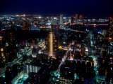 Night View of Tokyo Photographic Print