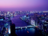 Evening View of River Sumida Reproduction photographique