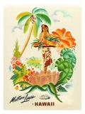 Maston Line, Tropical Abundance Giclée-tryk af Frank Mcintosh