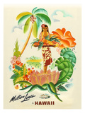 Maston Line, Tropical Abundance Giclee Print by Frank Mcintosh