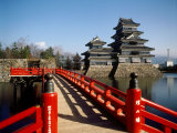 Matsumoto Castle, Nagano, Japan Photographic Print