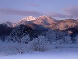 Mt. Bandai in Dawn Photographic Print