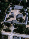 Aerial View of Horyuji Temple Complex Photographic Print
