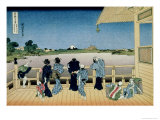 36 Views of Mount Fuji, no. 23: Sazai Hall at the Temple of 500 Rakans Giclee Print by Katsushika Hokusai