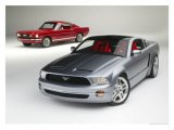 Mustang GT Coupes Giclee Print