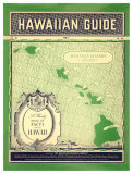 Matson Hawaiian Guide Map Giclée-tryk