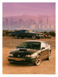 Mustang Bullitt GT Giclee Print